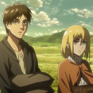 Eren and Historia
