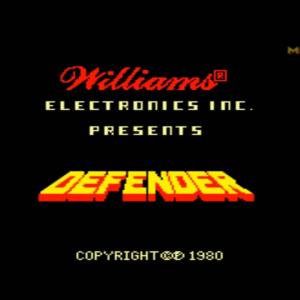 Defender (Williams Electronics, Taito 1981)